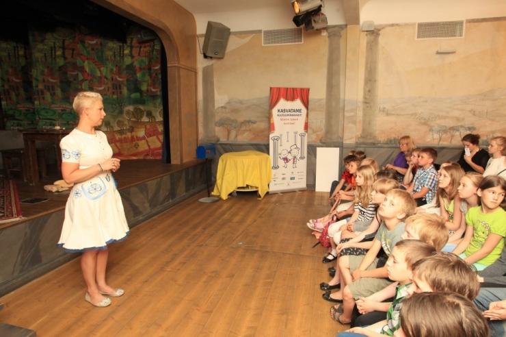Lastele kultuurielamuste pakkumiseks on kogutud pool miljonit eurot