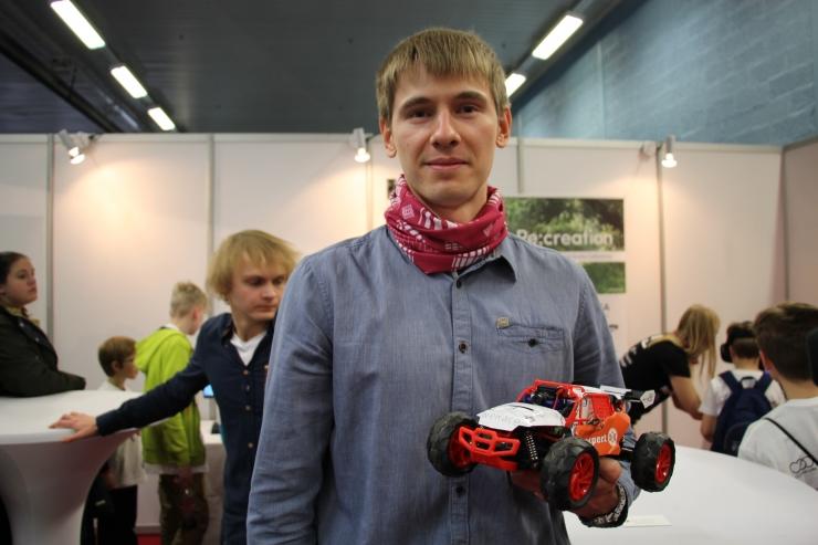 Sergei Štšetina: meie autod sõidavad virtuaalreaalsuse baasil