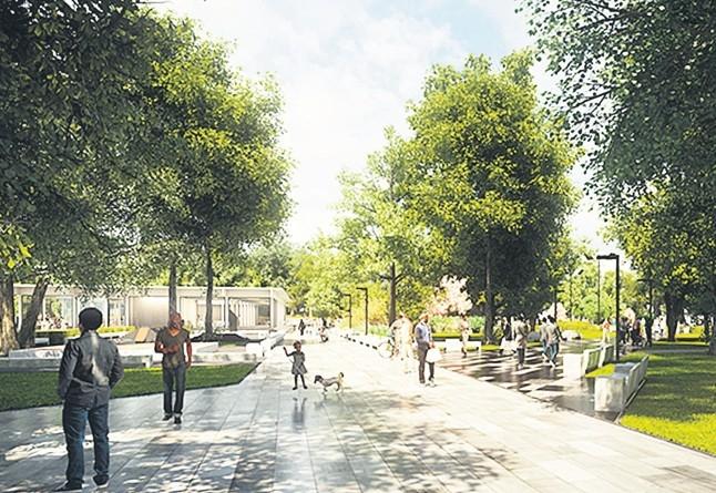 Uus Tammsaare park saab salaaia