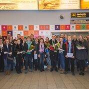 GALERII: Eesti delegatsioon naasis koju Euroopa kutsemeistrivõistlustelt EuroSkills