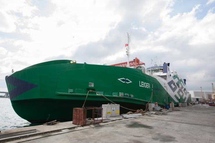 FOTOD ja VIDEO! Peaminister Jüri Ratas: uus parvlaev Leiger muudab mandri ja saarte vahel sõitmise mugavamaks