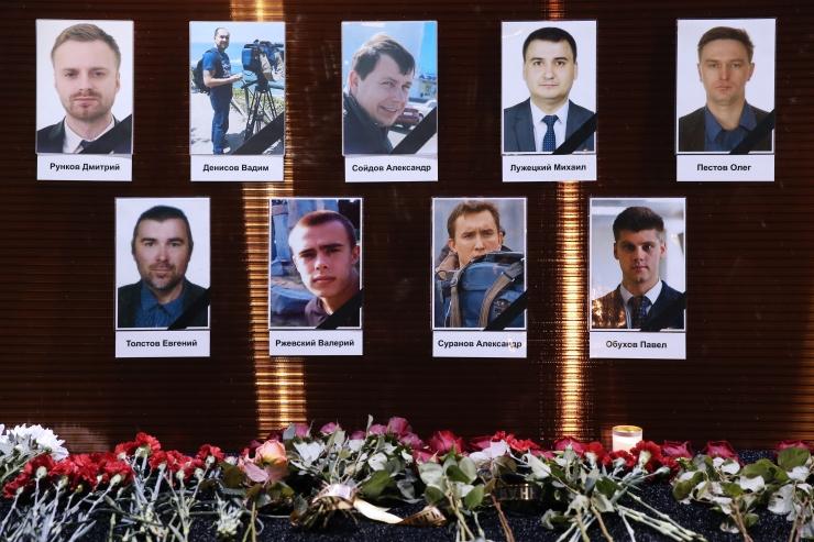Vene sõjaväelennuki hukupaigast ellujäänuid ei leitud