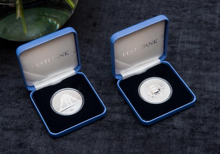 Eesti Pank vermib kuni 1,5 miljonit 2-eurost mälestusmünti