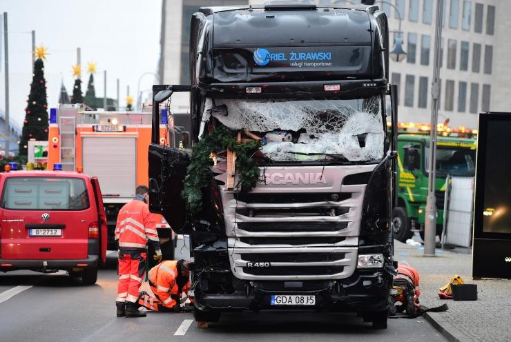 Poola veokijuhti tulistati mitu tundi enne terrorirünnakut