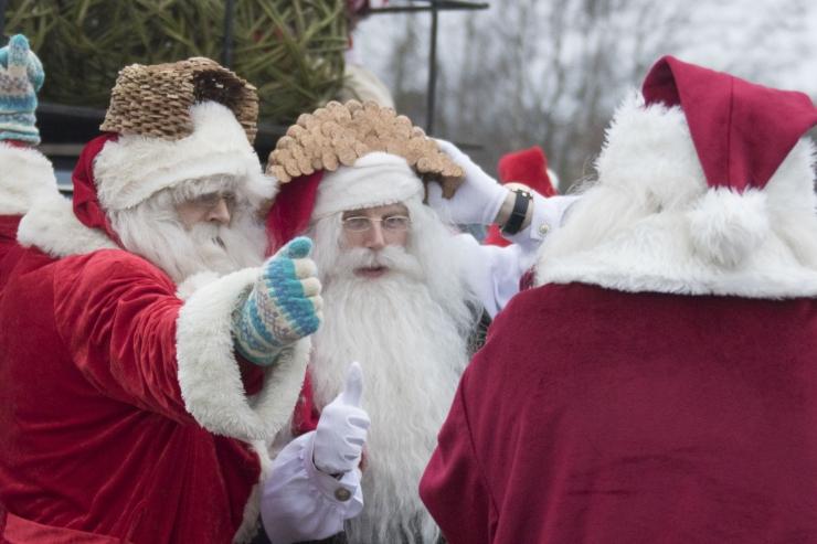FOTOD ja VIDEO! Jõuluvana Olle: jõulud olgu teie südames alati, terve aasta tuleb rõõmu tunda