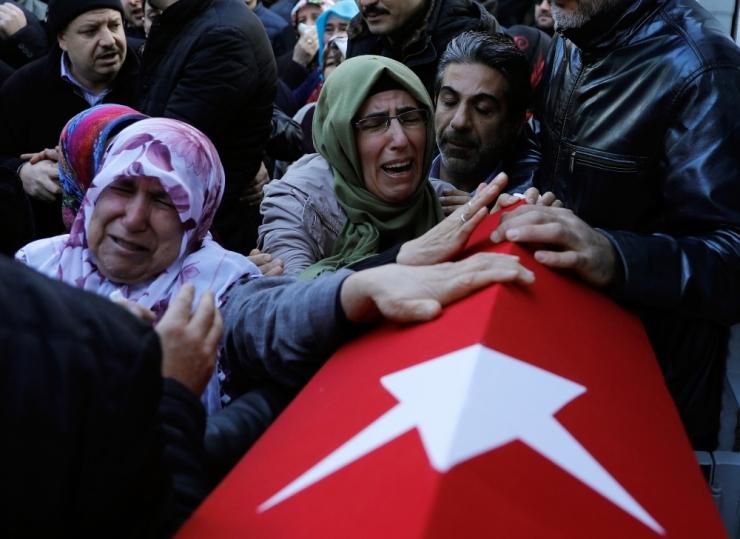 IS võttis vastutuse Istanbuli rünnaku eest