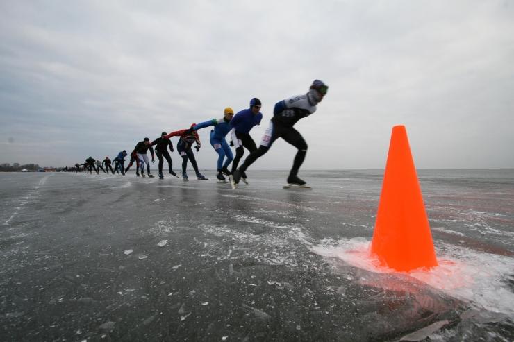 Traditsiooniline Kalevipoja uisumaraton tuleb tänavu Kuremaa järvel