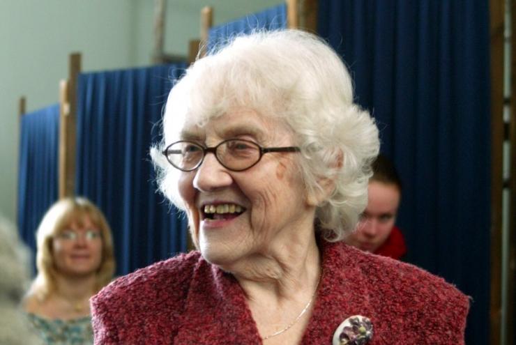 Ester Mägi tähistab homme 95. sünnipäeva