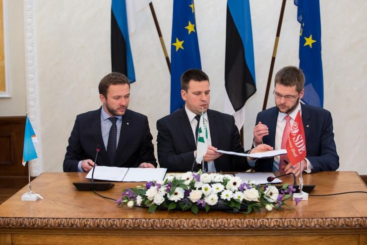 Tõnis Saarts: kui võimuliidu koostöö sujub, siis Reformierakond opositsioonist ei pääse