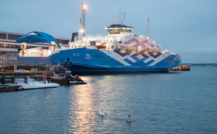 TS Laevade teine uus parvlaev Tõll sai ametlikult endale nime