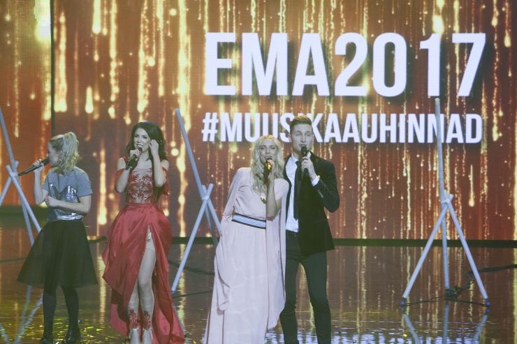 SUUR GALERII! Eesti Muusikaauhindadel võidutsesid Karl-Erik Taukar, Kadri Voorand ja Elephants From Neptune