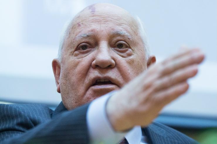 Mihhail Gorbatšov: kõik märgid näitavad, et maailm valmistub sõjaks