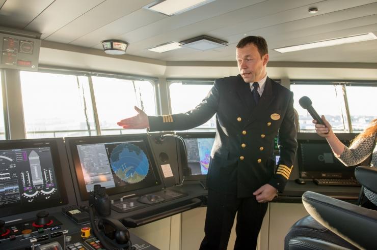 FOTOD! Kapteni sõnul ületab Tallinki uus laev Megastar ootusi