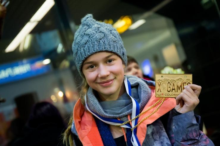 Kelly Sildaru tõusis X-mängude kahekordseks kullavõitjaks!