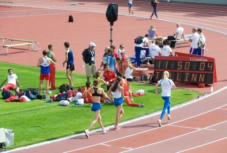 Linn toetab rahvusvahelisi võistlusi ligi 250 000 euroga