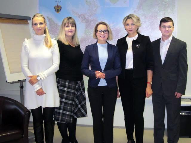 Moldova suursaadik Eestis proua Inga Ionesii külastas Lasnamäe Linnaosa Valitsust