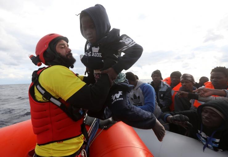 Vahemerelt päästeti ööpäevaga üle 1750 migrandi