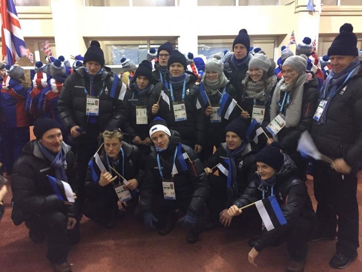 Euroopa Noorte Olümpiafestivalil stardib 16 Eesti sportlast
