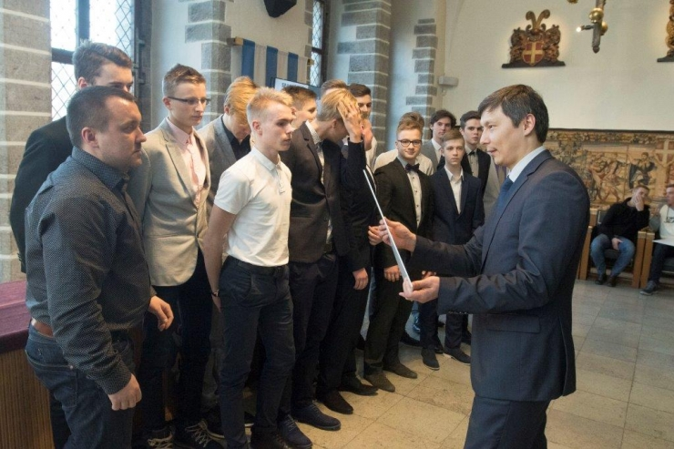 Tallinn tunnustas oma parimaid noorsportlasi