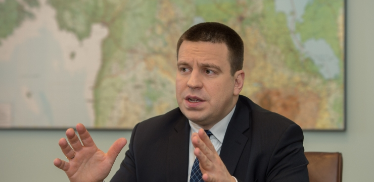 Jüri Ratas: Eesti ei luura oma liitlaste järgi