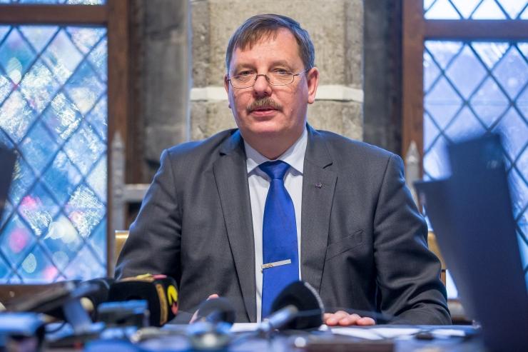 Aas: Keskerakonna kõrge toetus Tallinnas näitab rahulolu linna juhtimisega
