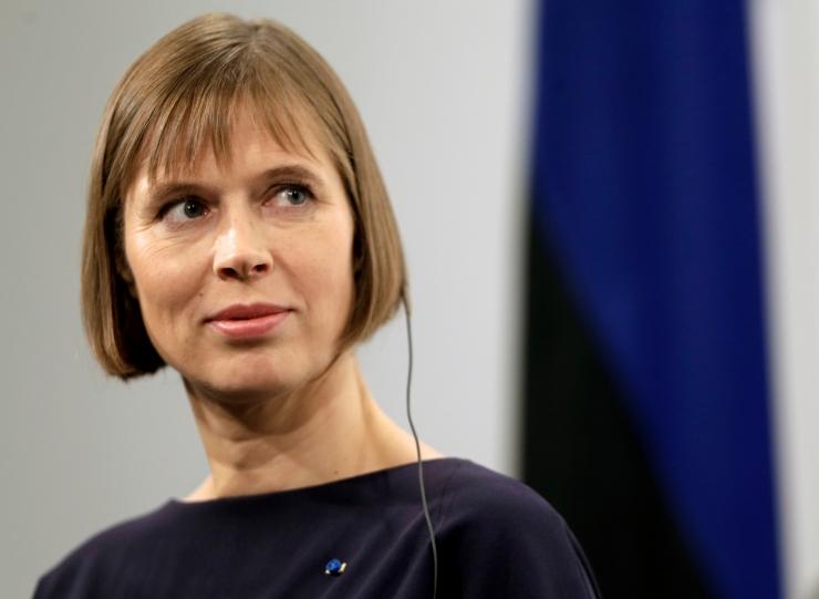 President Kaljulaid: toetan Venemaale kehtestatud sanktsioonide jätkamist