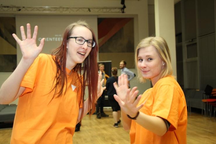 FOTOD! Tallinna Tehnikaülikoolis harrastati siseorienteerumist