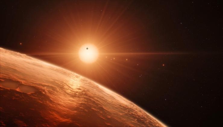 NASA teadlased leidsid seitse uut Maa-sarnast planeeti