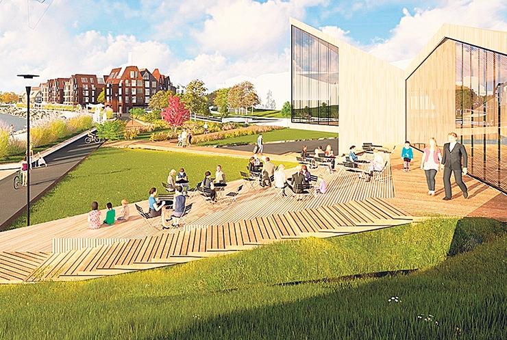 Kalarand saab rannapromenaadi ja päikeseloojangu nautimise terrassi