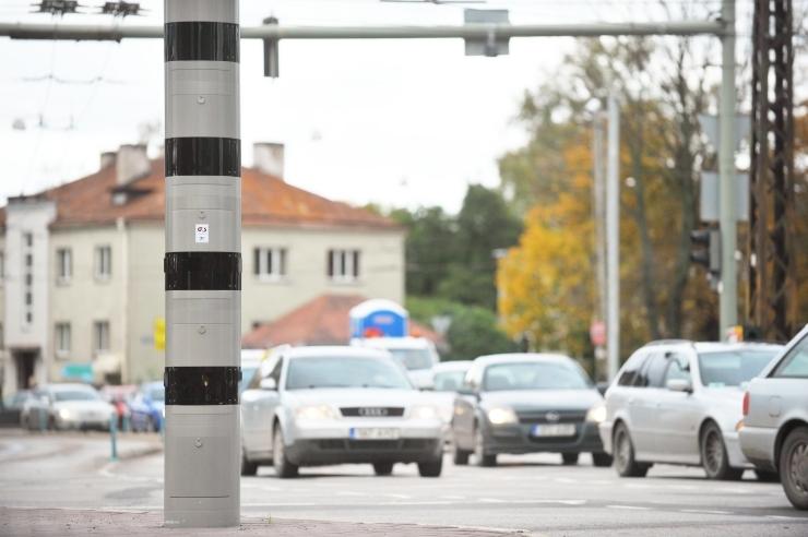 Maanteeamet käivitab Tallinnas Kristiine ristmikul kiiruskaamerad