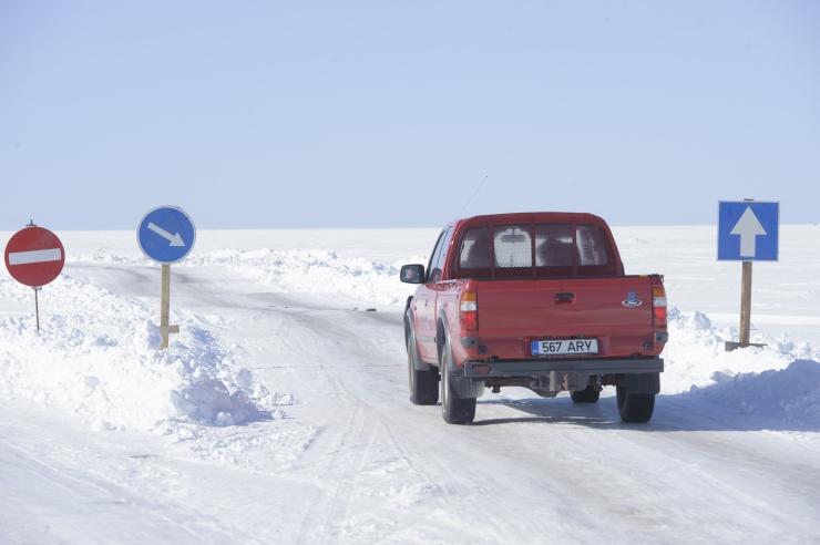 Jääteed on tänasest suletud