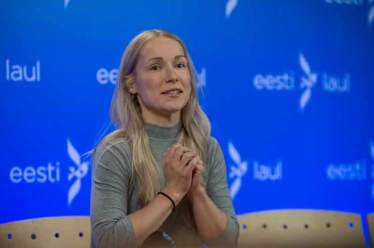 Lenna Kuurmaa: eestlastel jätkub tahet minna lauluvõistlust võitma