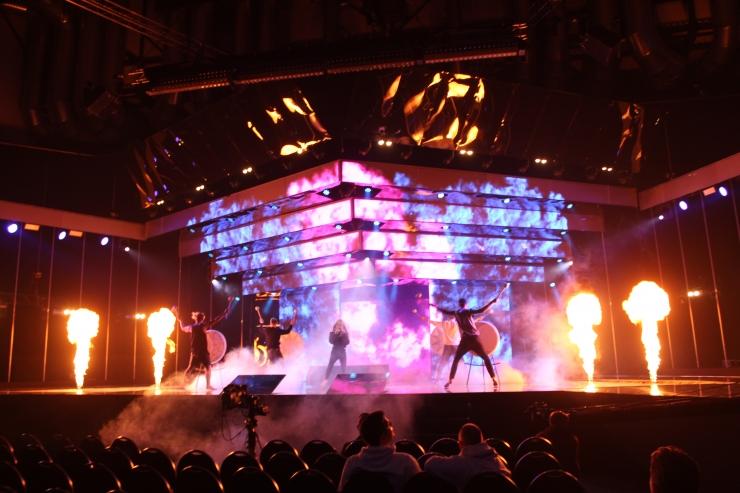 FOTOD! Eesti Laulu finalistid harjutasid usinalt oma etteasteid