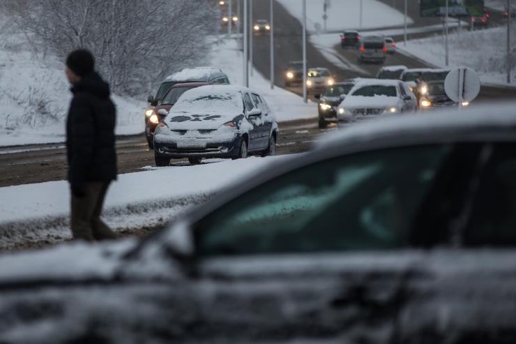 Päeva ainsas liiklusõnnetuses sai viga roolijoodik koos kaasreisijaga