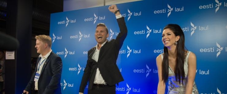 FOTOD ja VIDEO! Eesti Laul 2017 võitjad Koit Toome ja Laura: me pole midagi sellist kakskümmend aastat tundnud