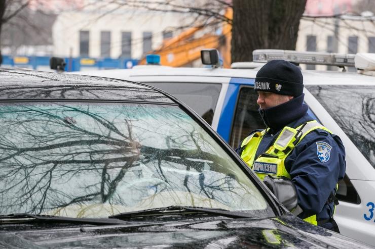 Politsei tabas 15 joobes juhti