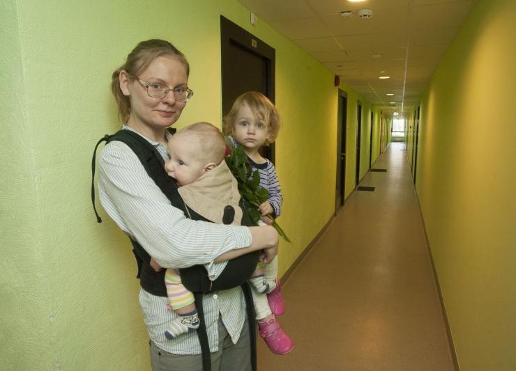 FOTOD ja VIDEO! MERIKE MARTINSON: Arstide ja õdede maja on omaks võetud