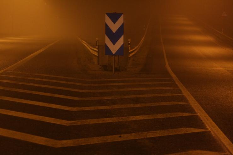 Esmaspäeval võib kohati häirida liiklust udu
