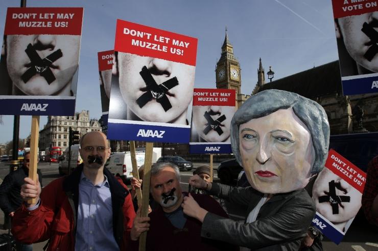 """Briti valitsus: Šoti iseseisvusreferendum oleks """"lõhestav"""""""