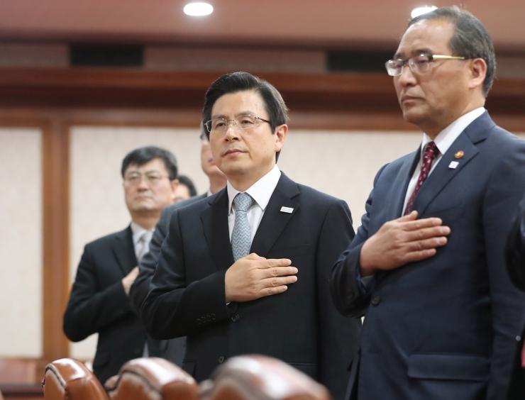 Lõuna-Korea erakorralised presidendivalimised toimuvad 9. mail
