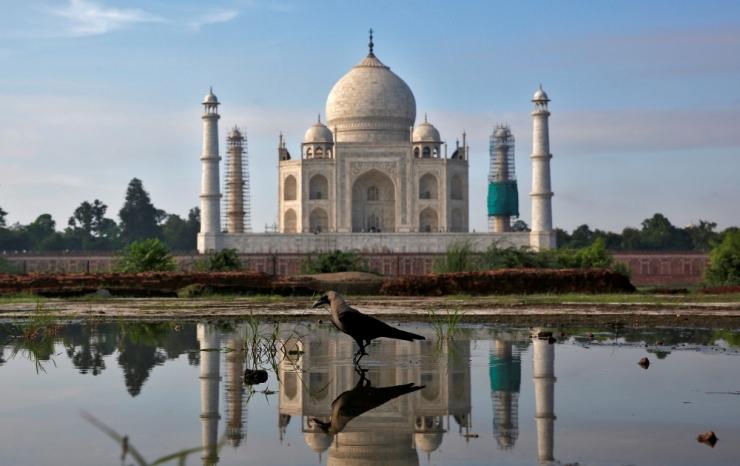 India tugevdas IS-i ähvarduse tõttu Taj Mahali julgeolekumeetmeid