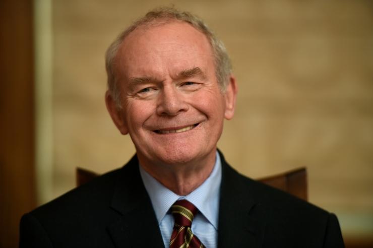 BBC: Suri endine Põhja-Iiri esimese ministri asetäitja McGuinness