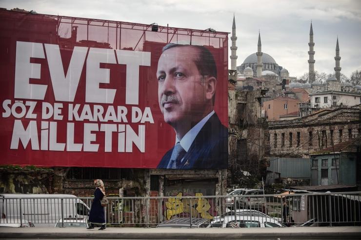 """Erdoğan: """"jah"""" referendumil on parim vastus """"fašistlikule"""" Euroopale"""