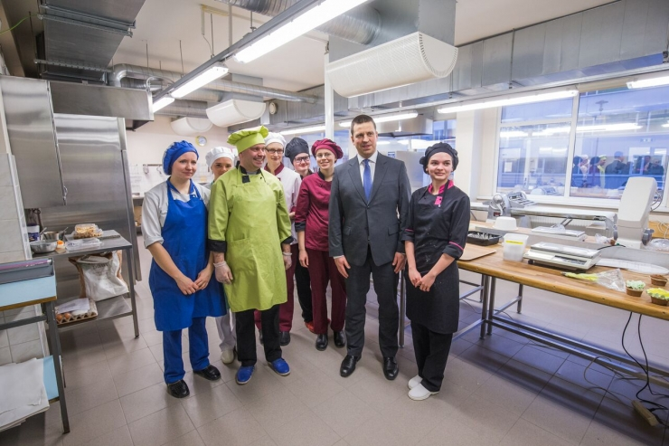 Peaminister Jüri Ratas külastas Tartumaad