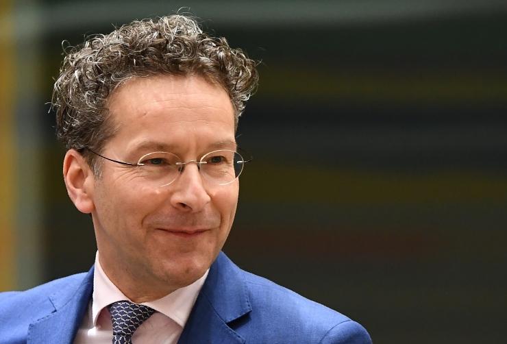 Kirjapomm saadeti ka eurogrupi juhile Dijsselbloemile