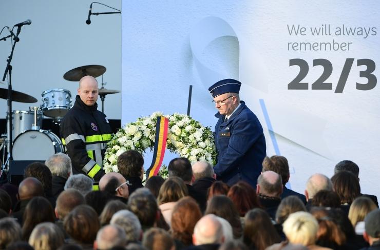 Belgias mälestatakse aasta eest toimunud terrorirünnakut