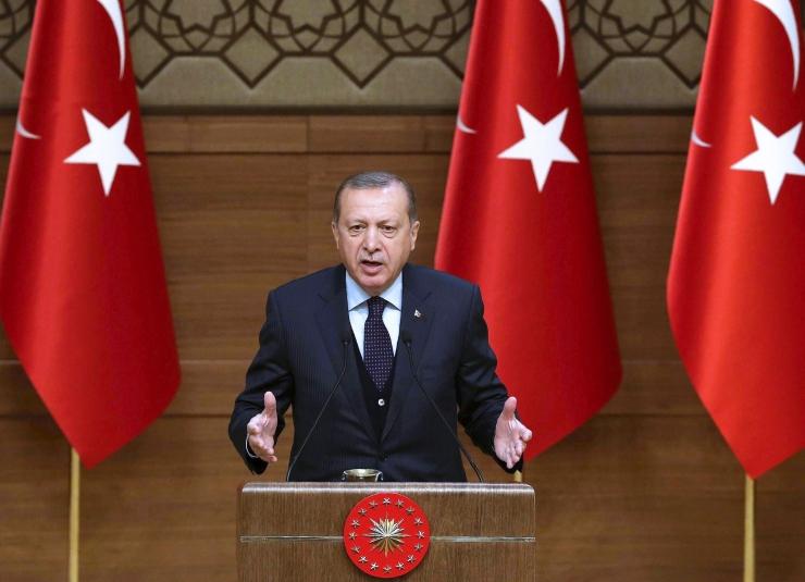 Erdoğan: eurooplased ei saa varsti enam ohutult maailmas liikuda