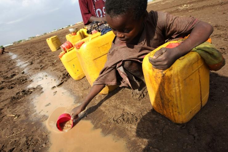 UNICEF: 2040. aastal kannatab veepuuduse käes üks laps neljast