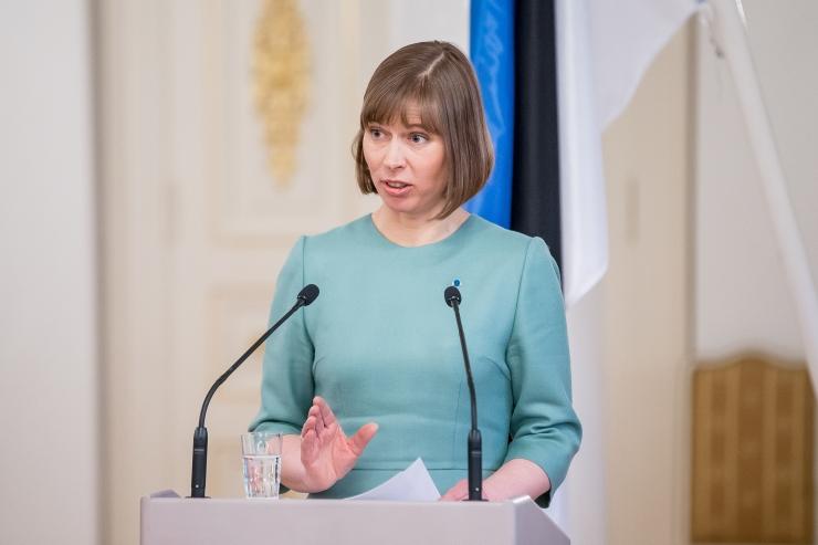 President Kaljulaid taunis Martin Helme kohtunike ründamist