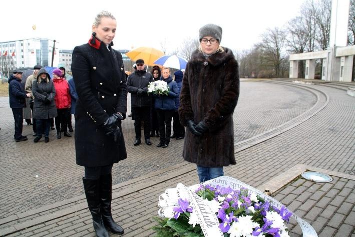 Jüriöö pargis mälestati märtsiküüditamise ohvreid